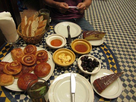 Dar Lalla Kenza: desayuno