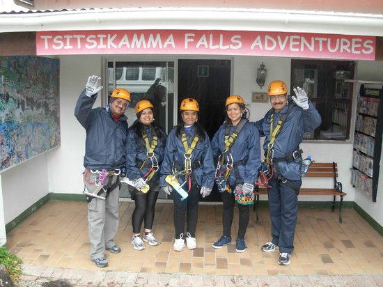 Gecko Transport and Tours - Day Tours: Our group at Tsitsikamma