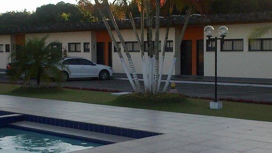 Hotel Pousada Lord: Vista dos apartamentos.