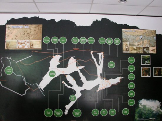 Gomantong Cave Sandakan: map