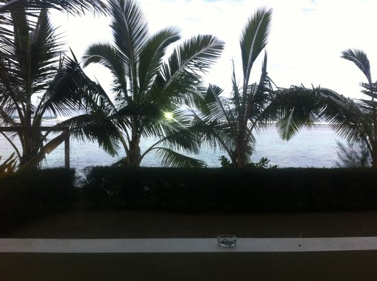 The Edgewater Resort & Spa: View outside my room, 400....