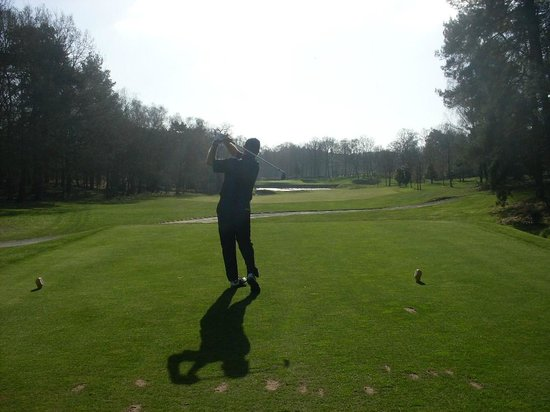Wentworth Golf Club: 8th hole