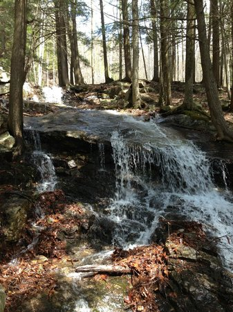 Mount Ascutney: First waterfall