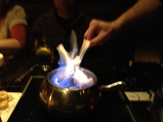 Melting Pot: Flaming Fondue