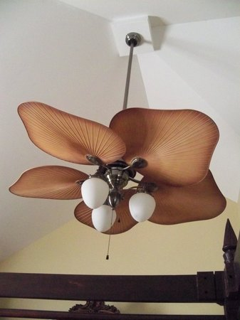 Joseph Aiken Mansion Carriage House: Bedroom Fan