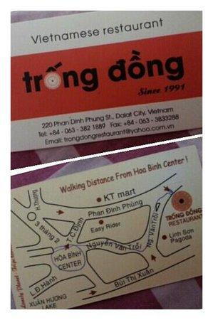 Trong Dong Restaurant: Restaurant details