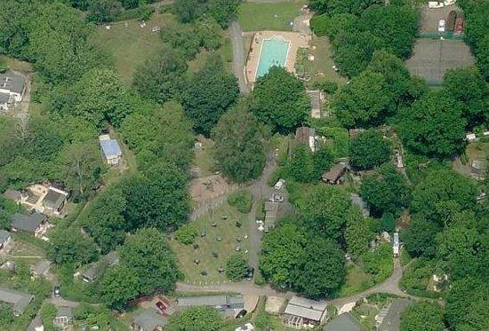 Spielplatz Naturist Club: Aerial view