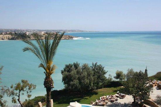 SENTIDO Thalassa Coral Bay : vue du restaurant face a la mer