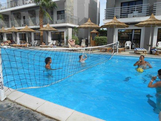 Hurghada SeaGull Beach Resort: водный воллейбол