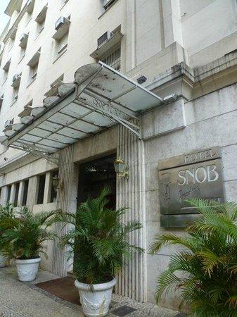 Arosa Rede Rio Hotel : Main entrance