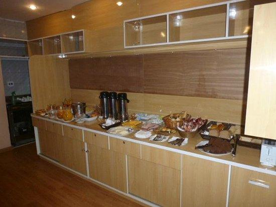 Arosa Rede Rio Hotel : breakfast buffet