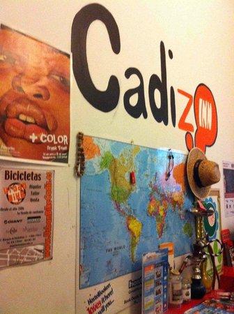 Cadiz Inn Backpackers: Reception