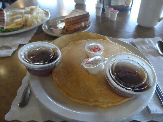 Junction Restaurant : Fluffy and light pancakes