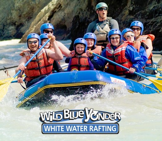 Wild Blue Yonder White Water Rafting: Family rafting trips for kids of all ages on the Sulphur River near Grande Cache, Alberta.