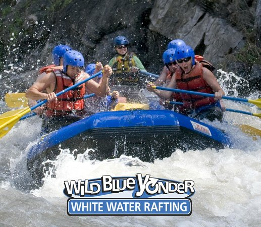 Wild Blue Yonder White Water Rafting: Custom Group Packages include Meals and Accommodations.