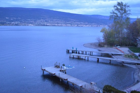Summerland Waterfront Resort & Spa: From the balcony