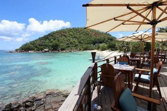 Constance Lemuria: View from Beach Bar ang Grill