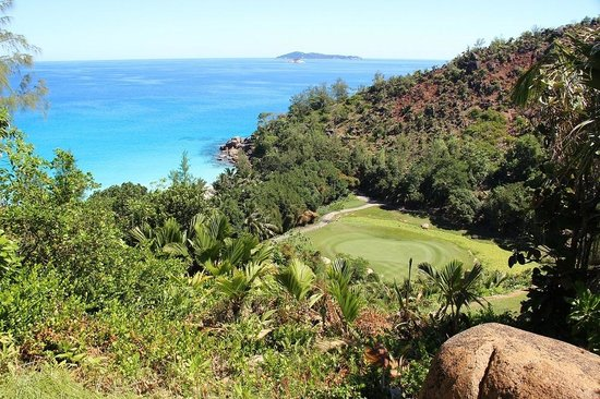 Constance Lemuria: View from golf driving range No 15