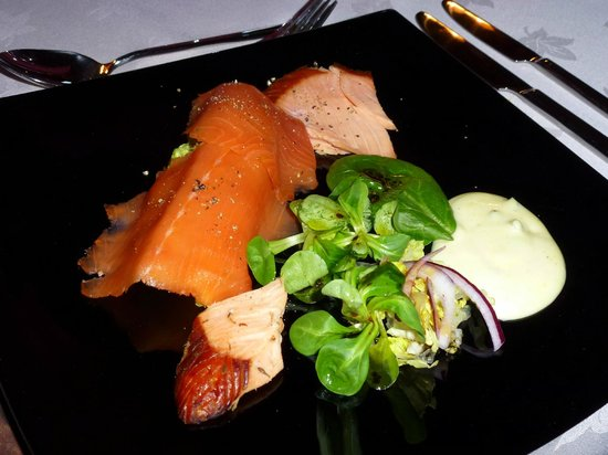 Brooklynn Guest House: Trio smoked salmon