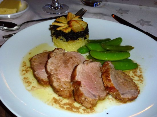 Brooklynn Guest House: Moray Coast pork fillet