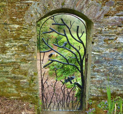 Buckland Abbey: beautiful ironwork