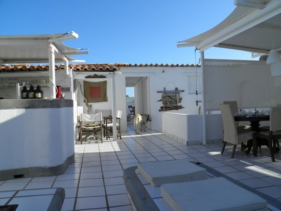 Posada Mediterraneo: roof top