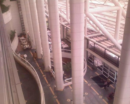 Golden Tulip Paulista Plaza: View from room down to lobby area