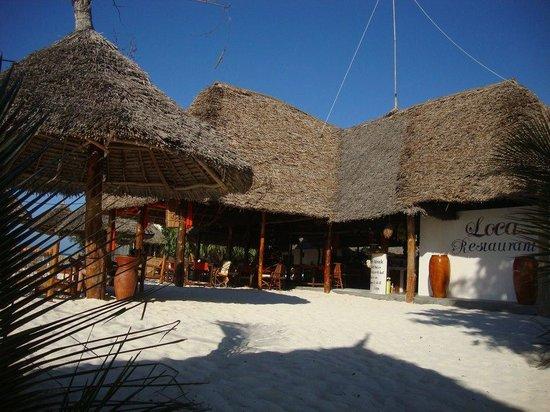 Loca Restaurant Nungwi Zanzibar: Loca Resturant