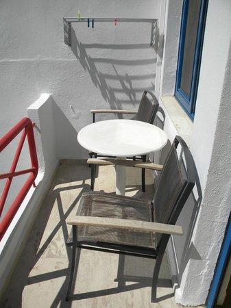 Plakias Bay Hotel: Terrasse