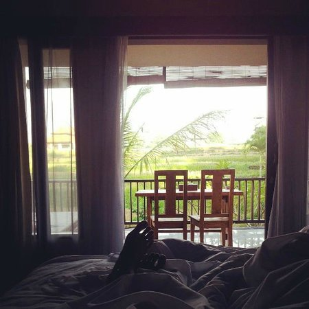 Biyukukung Suites and Spa: View from the bed