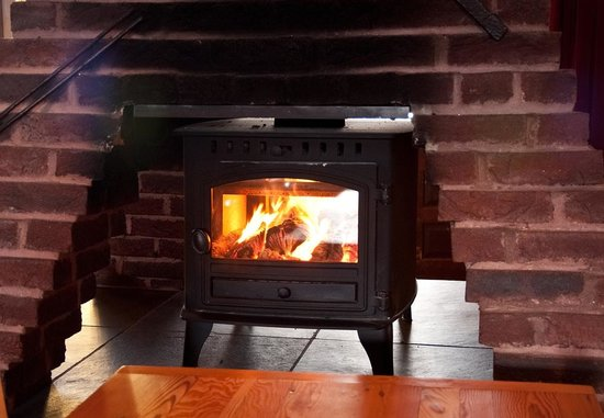 Tricky's Hotel: Our cosy log burner