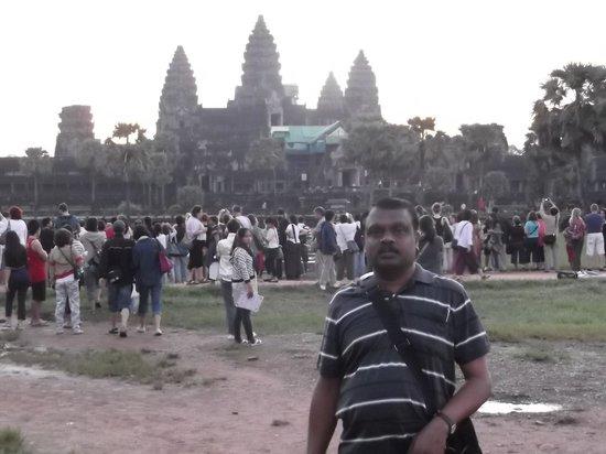 Rithy Rine Angkor Hotel: angkor wat