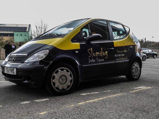 Slumdog delivery Rikshaw