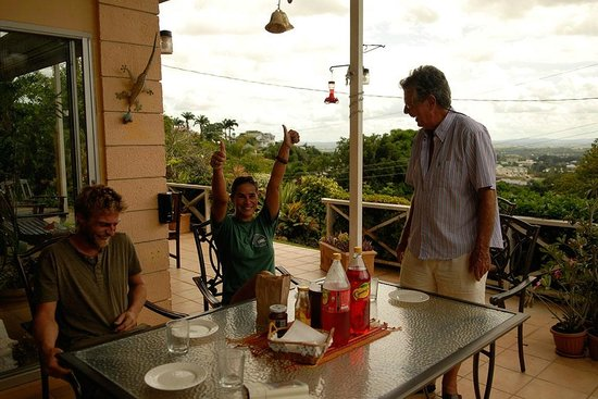 The Amazon Lodge B&B: Having a blast while enjoying some authentic cuisine
