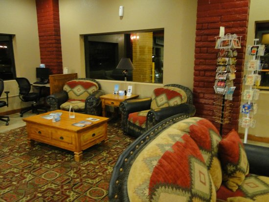 Best Western Canyon De Chelly Inn: Lovely Lobby area