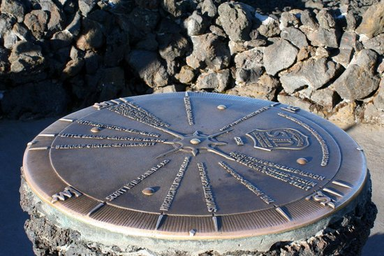 "Blue River, OR: ""Peak Finder"" Compass"