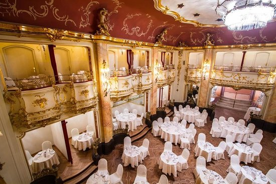 Mozart Dinner at the Grand Hotel Bohemia - Review of Mozart Dinner, Prague,  Czech Republic - Tripadvisor