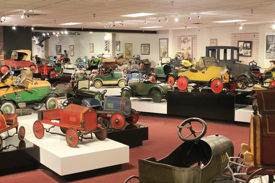Museum of American Speed: Pedal Cars