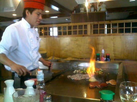 Sake Cafe: Fi-yaaaah