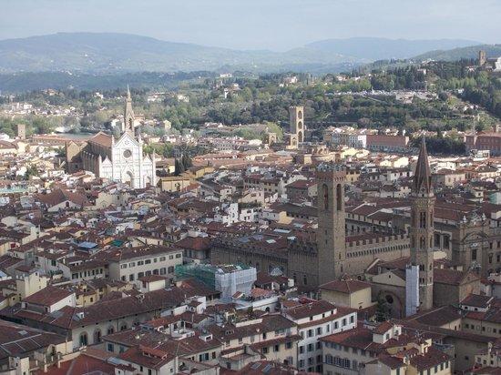 Ridolfi Guest House: la vista dal campanile di Giotto
