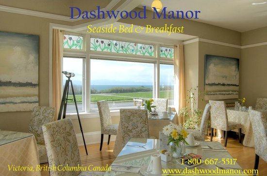 Dashwood Manor Seaside Bed and Breakfast Inn: Dashwood Manor Breakfast Room