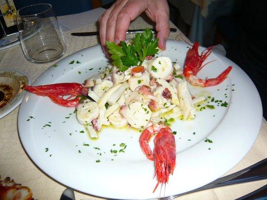 Hotel Olimpico: seafood appy