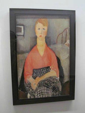 Avignon Musée Angladon : Modigliani