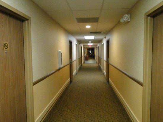 Comfort Inn Flagstaff : Corridor near our room