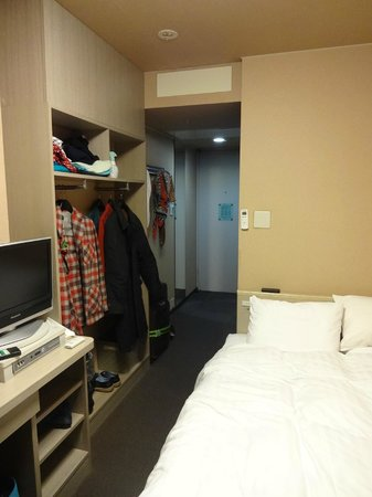 Dormy Inn Express Asakusa: Double room