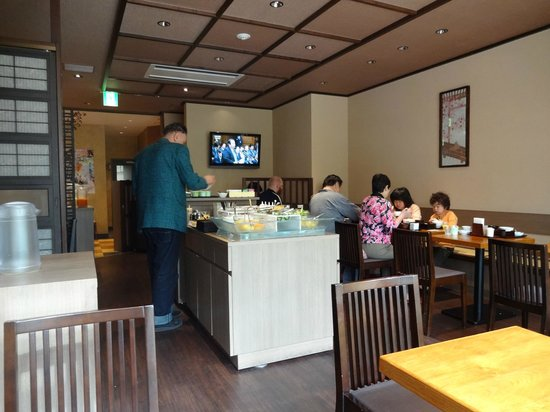 Dormy Inn Express Asakusa: Breakfast room