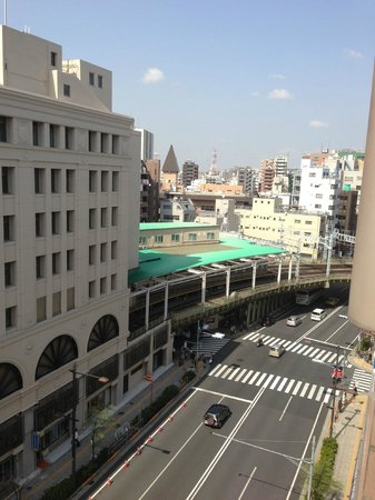 Dormy Inn Express Asakusa: Station side view