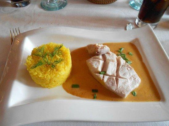 Sip Wine Bar: Mahi Mahi with Saffron Rice