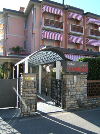 Hotel Matilde: ingresso hotel