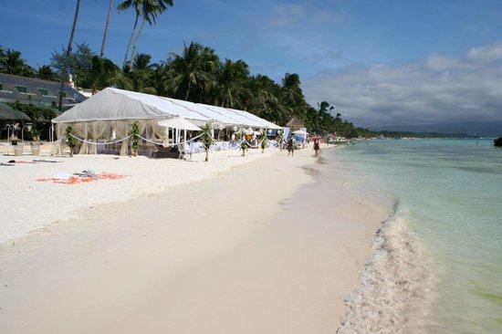 our wedding tent picture of estacio uno lifestyle resort